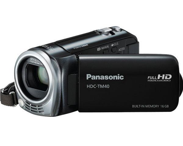 Panasonic HDC-TM40 Consumer Camcorder Review