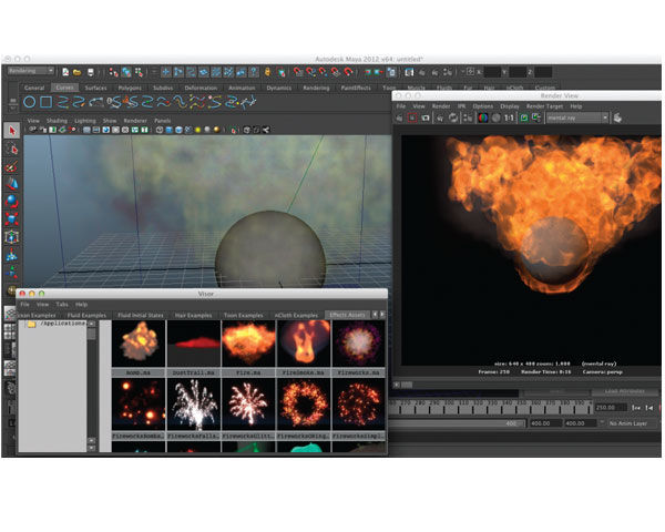 Autodesk Maya Entertainment Creation Suite Premium 2012 3D