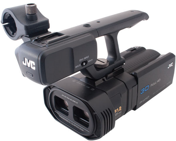 JVC GY-HMZ1U 3D Camcorder  Review