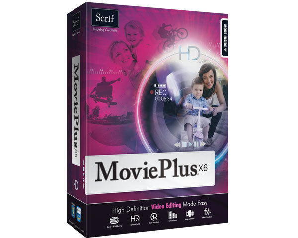 Serif MoviePlus X6 Introductory Editing Software  Review