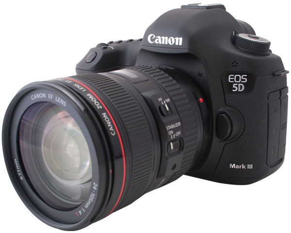 Canon EOS 5D Mark III DSLR Review