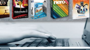 fingers-on-laptop-keyboard-software-boxes