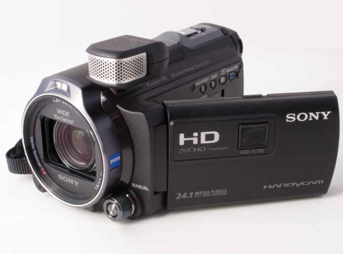 Sony-HDR-PJ790 camcorder/projector