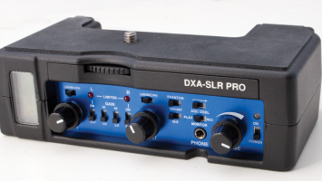 Beachtek DXA-SLR Pro audio adapter