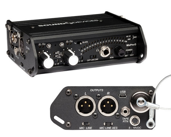 Sound Devices MixPre-D Compact Field Mixer