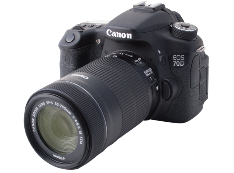 Canon Eos 70d Dslr First In Video Focus Review Videomaker
