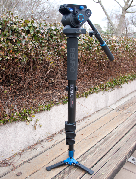 Photo of the Benro A48FBS6 Video Monopod Kit