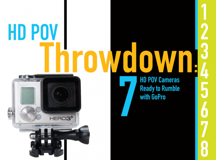 HD POV Throwdown: 8 HD POV Cameras Ready to Rumble with GoPro