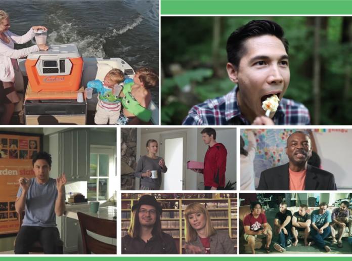 Montage of Kickstarter Videos