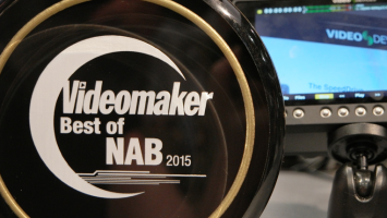 NABShow 2015 Award Winners trophy