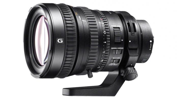 Sony fe pz 28-135mm f4 G OSS Lens