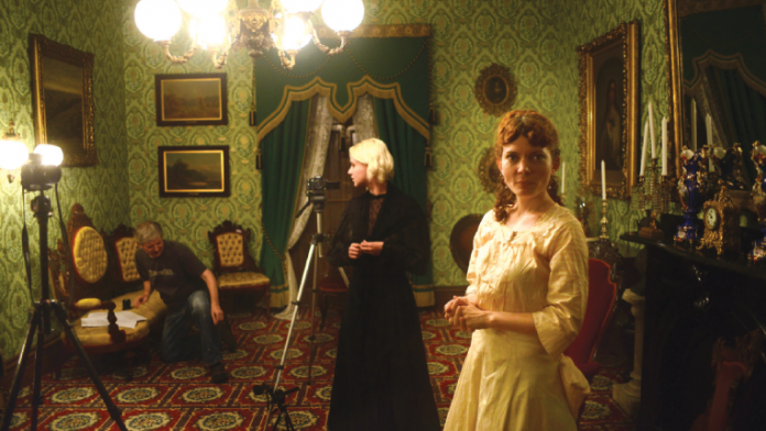 Set of the period piece based on a Henrik Ibsen play