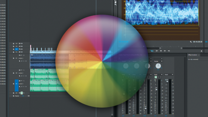 Editing interface with spinning beach ball.