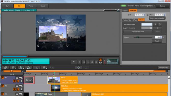TMPG#nc Video Mastering Works 5
