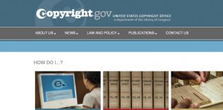 copyright.gov site
