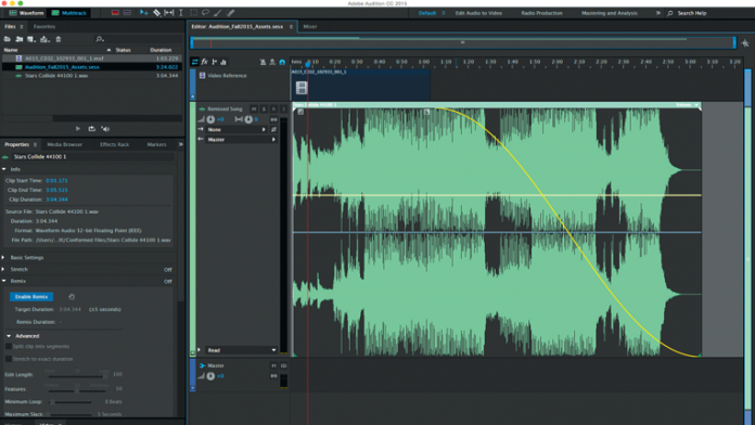 Adobe Remixes the Creative Cloud - Audition CC and Remi