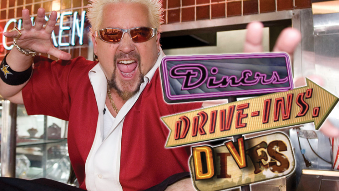 """Guy Fieri of """"Diners, Drive-ins and Dives"""""""