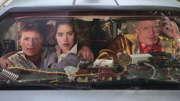 "Picking Apart a Frame in ""Back to the Future"""