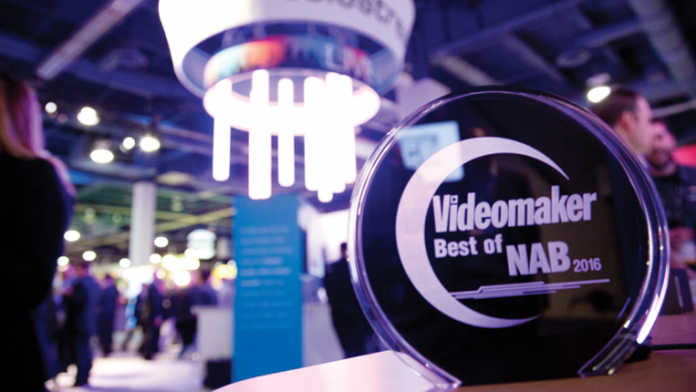 Videomaker Presents the Best of NAB 2016 Award Winners