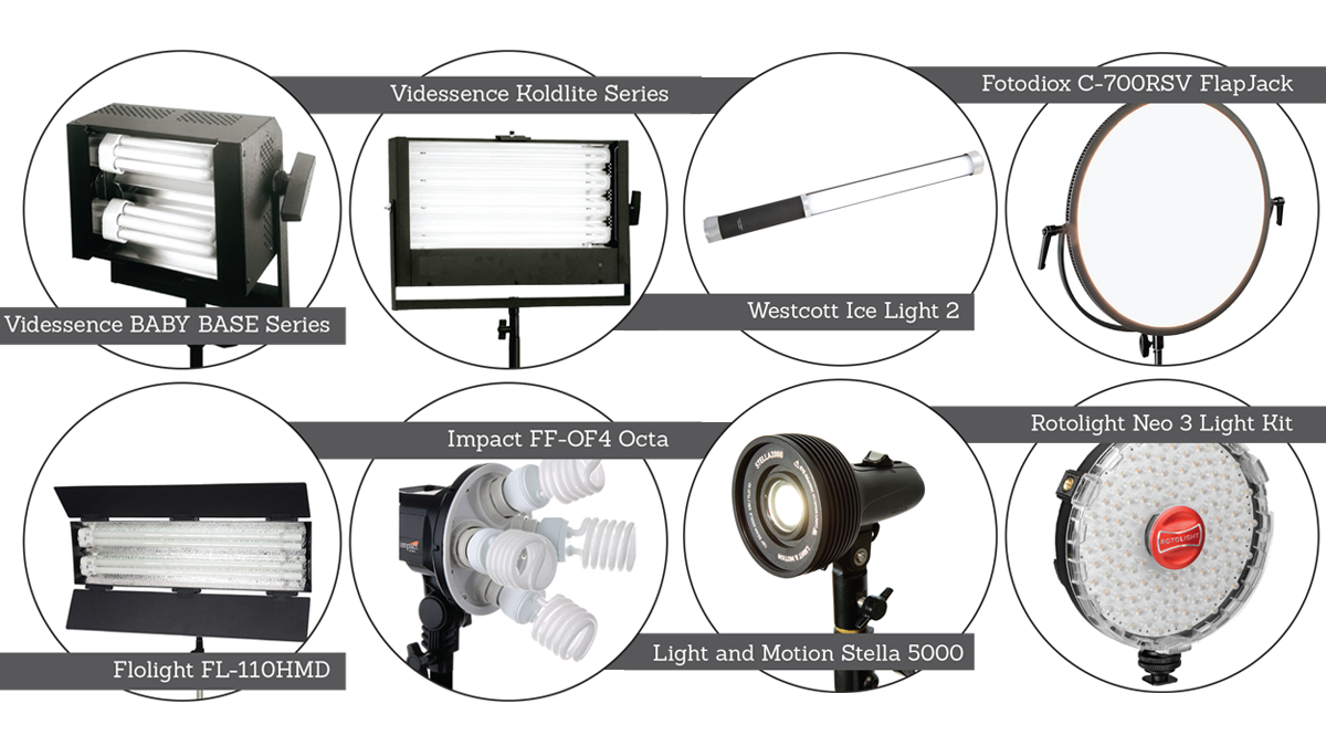 Lights Buyer\'s Guide - Videomaker
