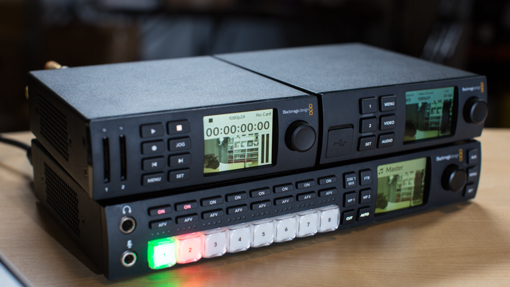 Review We Try Out The Blackmagic Web Presenter With The Atem Television Studio Hd Videomaker