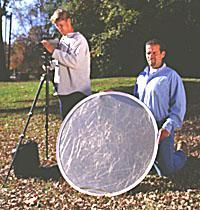 Use Reflectors to Ramp up Available Light
