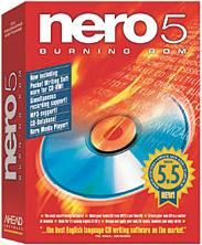 Test Bench:Ahead Software Nero 5.5 Multi-Format Disc Creation software