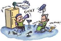 Sound Advice: Quiet on the Set