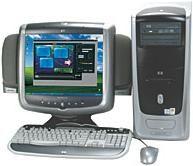 Home Video Computer Comparison: HP Pavilion 9995 vs. Compaq Presario 8000T