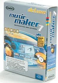 MAGIX Music Maker 7 deLuxe Multimedia Production Software Review