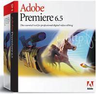 Adobe Releases Digital Editing Software Premiere 6.5
