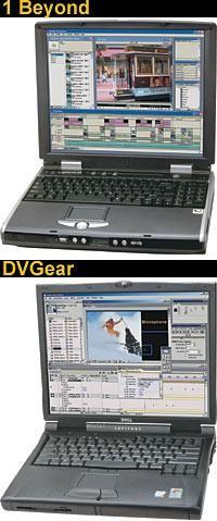 Laptop Comparison : 1 Beyond DV Pro 2600 Laptop vs. DVGear DVMobile Pro Dell Latitude C840