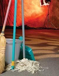 Light Source: Mop Up That Spill!