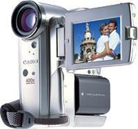 More Optical Zoom in Canon's Elura 50 Mini camcorder