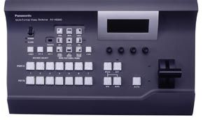 Panasonic releases multi-format, live switcher