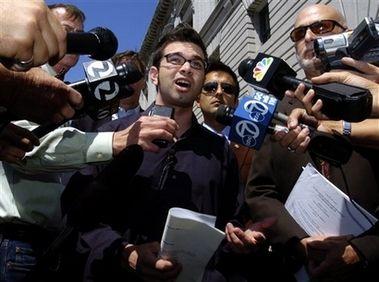 Journalist Josh Wolf is Free