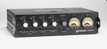 Azden officially announces the FMX-42 field mixer