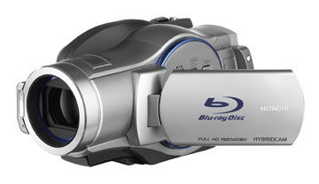 Hitachi Blu-ray camcorders are here