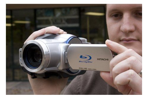 Unboxing the Hitachi DZ-BD7HA Blu-ray Camcorder