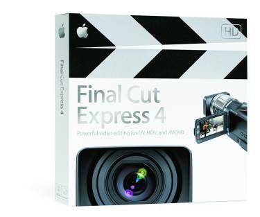 Apple Final Cut Express 4 release