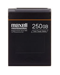 Maxell introduces iVDR Field Storage Devices at NAB 2008