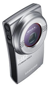 Samsung's New HMX-U20 Pocket-Sized Camcorder Offers 3x Optical Zoom and Full HD Video Recording