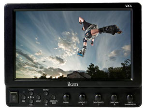 """Videomaker awards """"Best Monitor"""" to the VX7e from Ikan Corporation at NAB 2011"""