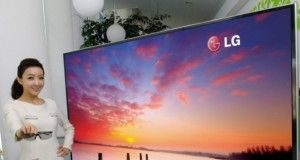 LG Unveils a Monstrous 84 Inch 4K Resolution 3D Television