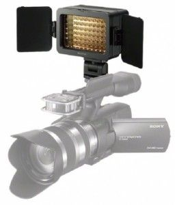 Sony Releases LED Video Light for Its Camcorders