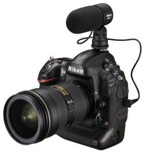 Nikon D4 DSLR Announced - Just in Time for CES 2012