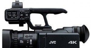JVC Releases First Handheld 4K Camcorder