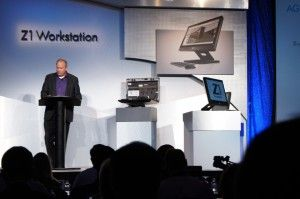 HP Makes the Z1 Stand for All-In-One