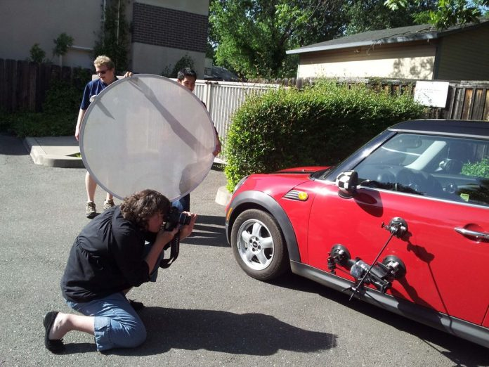 Car Mounts Photo Shoot, Behind the Scenes at Videomaker