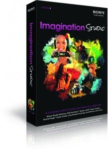 Edit in the Imagination Studio from Sony Creative Software